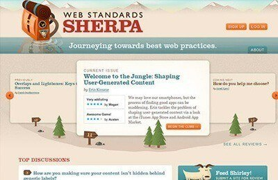 Webstandardssherpa