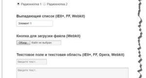 Пользовательские стили для формы на чистом CSS без Javascript