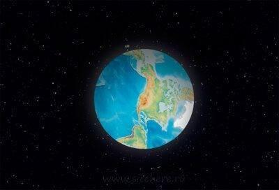 Интерактивный jQuery планетарий