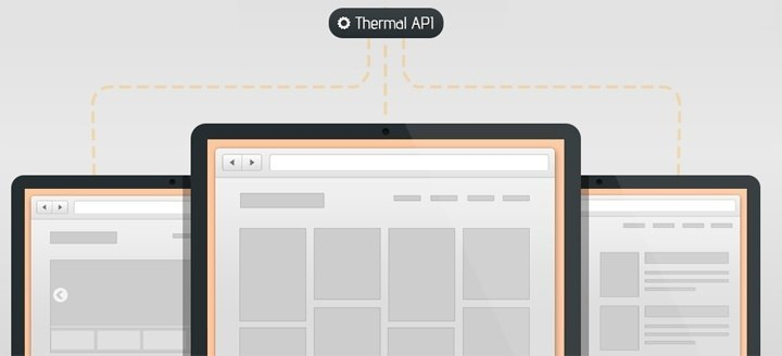 Thermal API