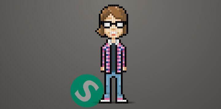 8-битный персонаж на CSS