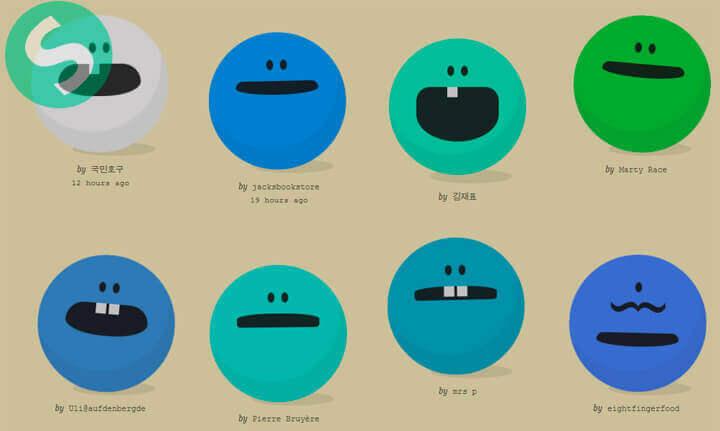 Существа на CSS