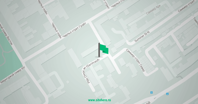 Маркер Google Maps