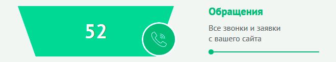 Звонки и заявки с сайта